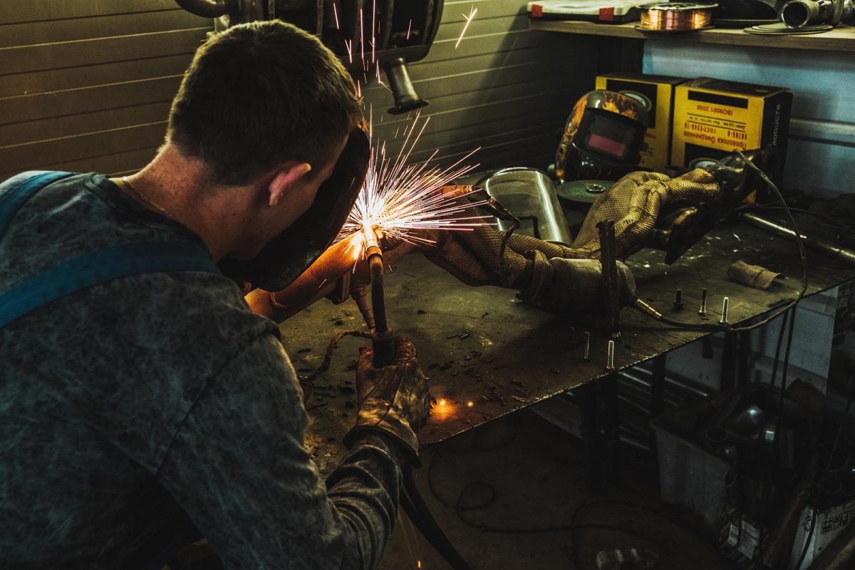 Замена и ремонт приемной трубы