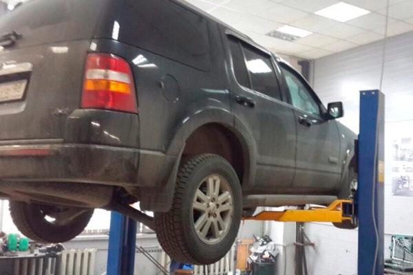 Ford Explorer — Замена демпферного соединения