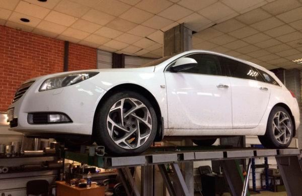 Opel Insignia - изготовление турбо-магистрали.