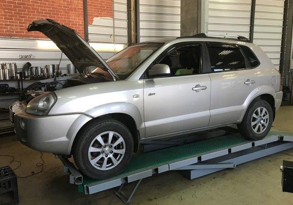 Hyundai Tucson катализатор