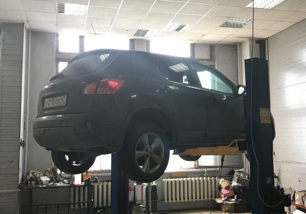 Nissan Qashqai – замена катализатора на пламегаситель