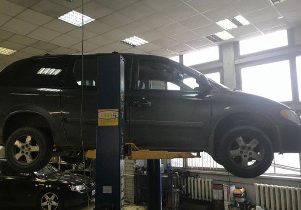Dodge Caravan – замена катализатора на пламегаситель