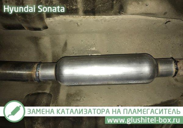 Hyundai Sonata катализатор