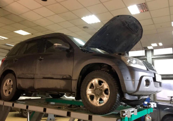 Suzuki Grand Vitara - замена катализатора