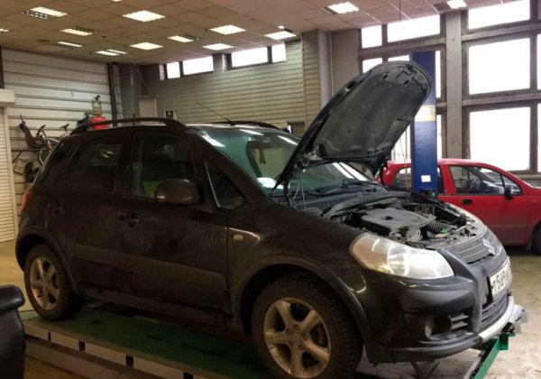 Suzuki SX4 - замена катализаторов