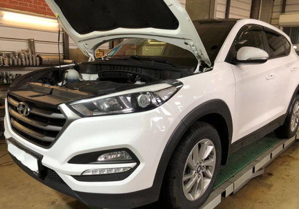 Hyundai Tucson замена катализатора
