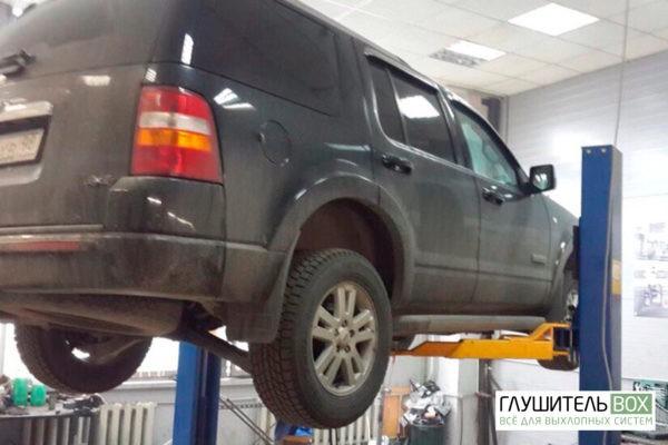 Ford Explorer-замена демпферного соединения.