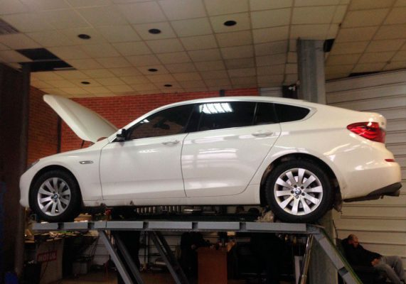 катализатор BMW 5