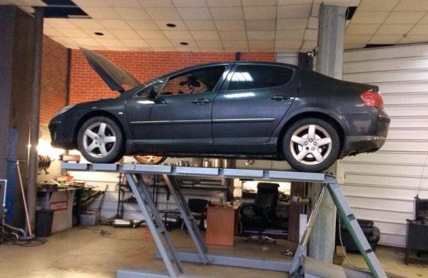 Peugeot 407 - ремонт катализатора + перепрошивка