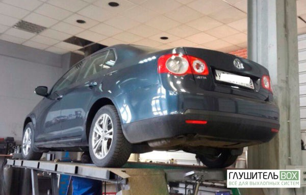 Volkswagen Jetta замена катализатора на пламегаситель