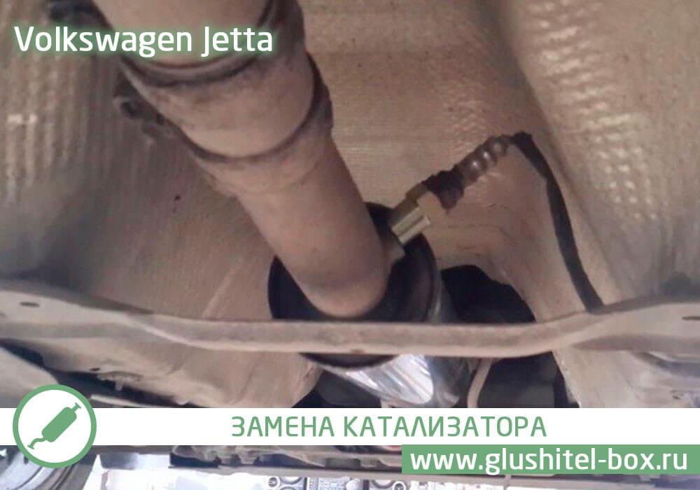Volkswagen Jetta ошибка по катализатору