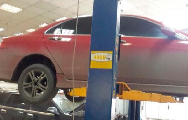 Honda Accord - замена катализатора на пламегаситель. Установка обманки.