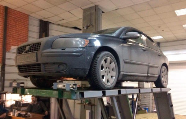 Volvo S40 замена катализатора на пламегаситель