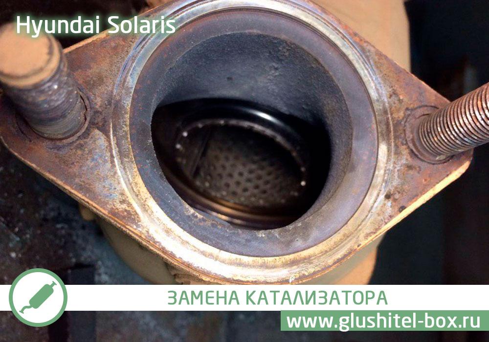 ремонт катализатора хендай солярис