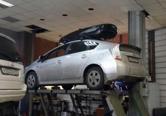 Toyota Prius – замена катализатора на пламегаситель