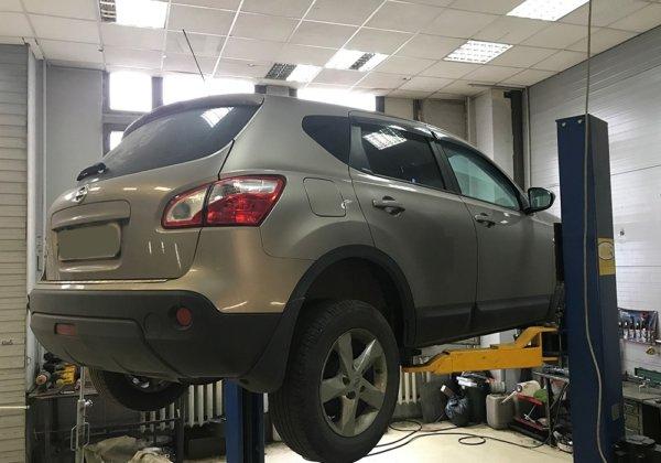 Nissan Qashqai — замена демпферного соединения