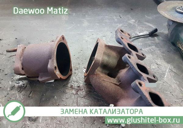 Daewoo Matiz катализатор
