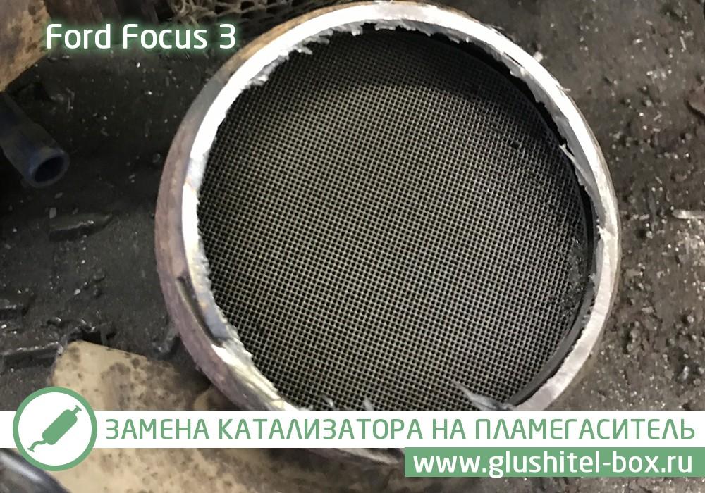 Focus 3 забитый катализатор