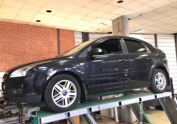 Ford Focus 2 — замена гофры глушителя