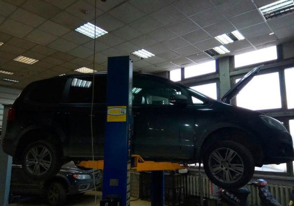 Volkswagen Sharan - замена катализаторов