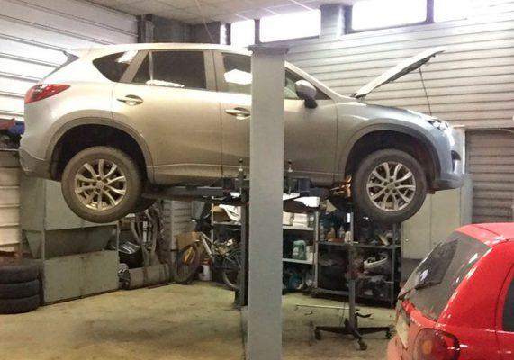 Mazda CX-5 - замена катализатора