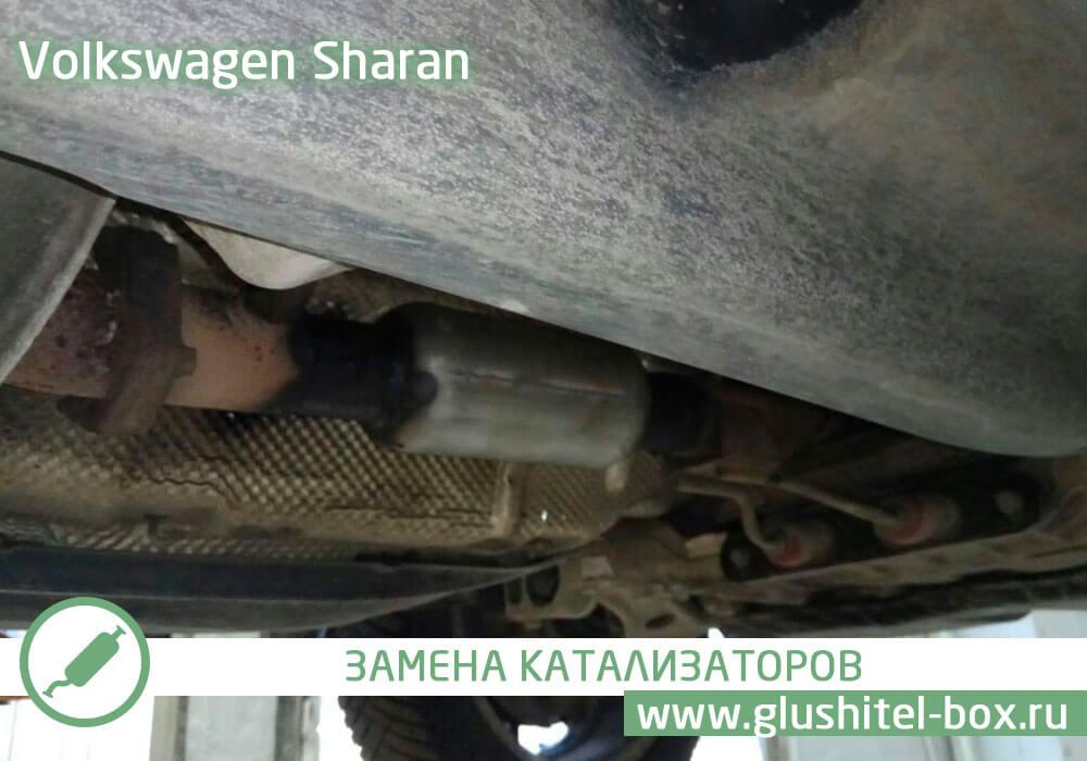 Volkswagen Sharan ошибка по катализатору